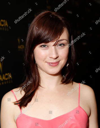 Stock Photo of Robin McLeavy attends the Australian Academy Of Cinema And Television Arts' 2nd AACTA International Awards at Soho House on in West Hollywood, California