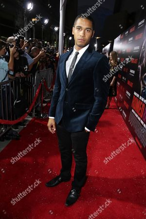 Elliot Knight attends the premiere of Swarovski Entertainment's first film ROMEO & JULIET, distributed by Relativity Media and in theaters nationwide October 11th on in Hollywood, Calif
