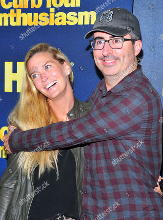 Kate Norley and John Oliver