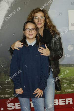 Stock Picture of Clelia Sarto and Tochter Luna