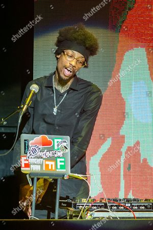 Sonny Digital performs on stage during the 2015 BMI R&B/Hip-Hop Awards at the Saban Theatre on in Beverly Hills, Calif
