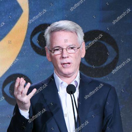"Chairman CBS Sports Sean McManus participates in the ""CBS Sports"" panel at the CBS 2016 Winter TCA, in Pasadena, Calif"