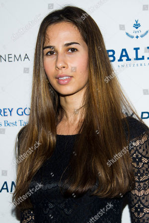 """Zineb Oukach attends a screening of """"At Any Price"""" hosted by The Cinema Society and Bally on in New York"""