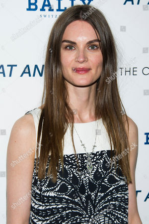"""Anouck Lepere attends a screening of """"At Any Price"""" hosted by The Cinema Society and Bally on in New York"""
