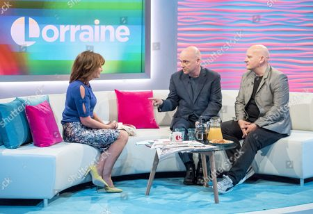 Stock Picture of Lorraine Kelly, Pat and Greg Kane - Hue and Cry