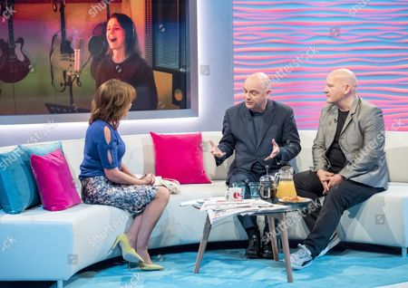 Editorial image of 'Lorraine' TV show, London, UK - 28 Sep 2017