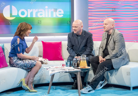 Stock Image of Lorraine Kelly, Pat and Greg Kane - Hue and Cry