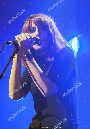 Laura Welsh performs on stage during the iTunes Festival at the Roundhouse, in London