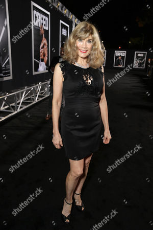 Barbi Benton seen at Los Angeles World Premiere of New Line Cinema's and Metro-Goldwyn-Mayer Pictures' 'Creed' at Regency Village Theater, in Westwood, CA