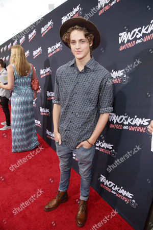 Stock Picture of Steffan Argus attends the Los Angeles premiere of Awesomeness Film's JANOSKIANS: UNTOLD AND UNTRUE at Bruin Theatre, in Los Angeles, CA