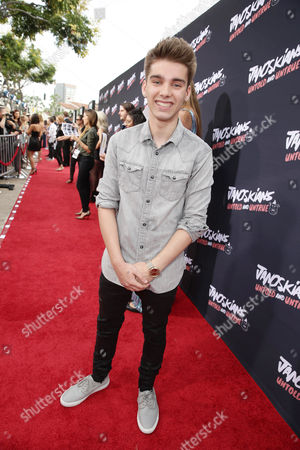 Stock Picture of Dyllan Murray attends the Los Angeles premiere of Awesomeness Film's JANOSKIANS: UNTOLD AND UNTRUE at Bruin Theatre, in Los Angeles, CA