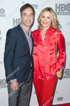 "Stock Picture of Don McKellar and actress Kim Cattrall seen at the screening of ""Sensitive Skin"", in Toronto, Canada"