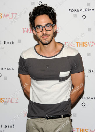 """Phillip Spaeth attends a special screening of """"Take This Waltz"""" at Sunshine Landmark on in New York"""