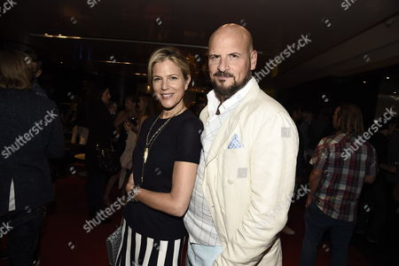 "Producer Lynn Harris and Producer Matti Leshem seen at Sony Pictures Special Screening of ""The Shallow"", in Los Angeles, CA"