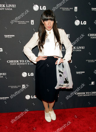 Recording artist Lady Starlight attends a Tony Bennett and Lady Gaga concert taping, in New York