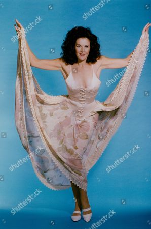 Editorial picture of Rhonda Burchmore Australian Actress Singer And Dancer. Daily Mail 'dressed To Kill' Feature. Box 735 1003031742 A.jpg.