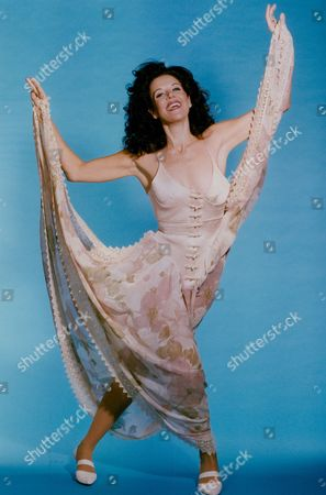 Stock Image of Rhonda Burchmore Australian Actress Singer And Dancer. Daily Mail 'dressed To Kill' Feature. Box 735 1003031743 A.jpg.