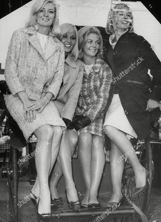 Stock Photo of The Lionel Blair Dancers. Diana Williams Jackie Irving Eithne Milne And Jennifer Wright. (no L-r Given) Box 735 40303178 A.jpg.