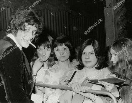 Tony Burrows Singer With Pop Group 'edison Lighthouse' With Fans At The Weekend Ball. Box 737 210031725 A.jpg.