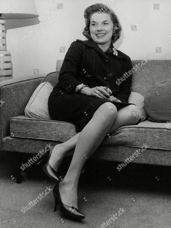 Editorial image of Louise Collins Actress Widow Of Racing Driver Peter Collins. (for Full Caption See Version) Box 738 314031723 A.jpg.