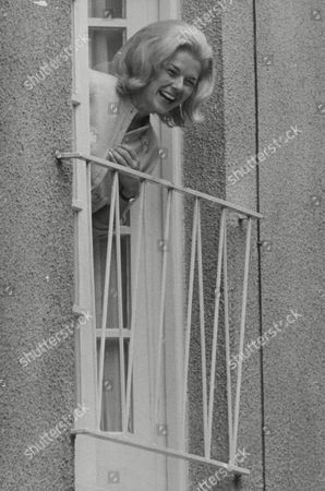 Louise Collins Actress Widow Of Racing Driver Peter Collins At Her Mews Flat After Her Break-up With Tommy Sopwith. Box 738 314031714 A.jpg.