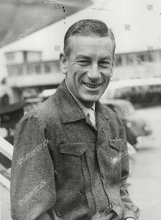 Editorial photo of Hoagy Carmichael American Composer Pianist Singer And Bandleader Arriving In Britain For Variety Tour. Box 739 116031743 A.jpg.