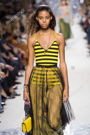 Editorial image of Christian Dior show, Runway, Spring Summer 2018, Paris Fashion Week, France - 26 Sep 2017