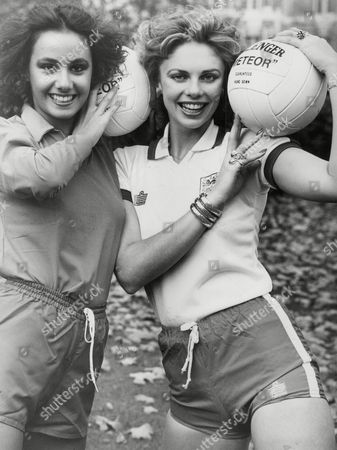 Stock Photo of Madeleine Stringer Miss U.k. (r) And Anna Kanakis Miss Italy (l) Both Are Contestants In Miss World 1977 Contest. Box 744 205041747 A.jpg.