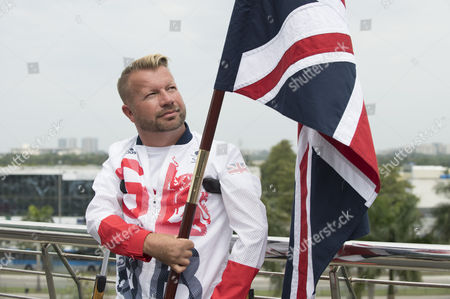 Lee Pearson Cbe. Paralympic Equestrian Lee Pearson Cbe Is Selected To Fly The Flag For Paralympicsgb As Rio 2016 Prepares For The Opening Ceremony.