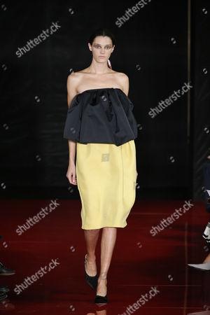 Editorial image of Rochas show, Runway, Spring Summer 2018, Paris Fashion Week, France - 27 Sep 2017