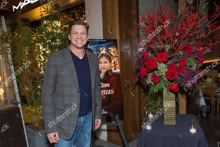 """Marc Blucas attends a screening for Hallmark Movies & Mysteries """"Operation Christmas"""" at The Gove on in Los Angeles"""