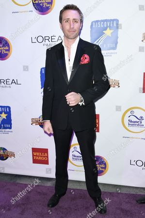 Philippe Cousteau attends the 15th Annual Fundraising Gala: Carnivale of Play, in Universal City, Calif