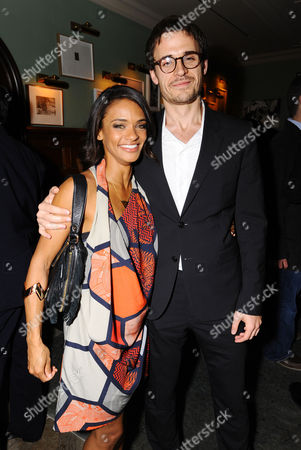 Actress Kandyse McClure and Writer Brian McGreevy attend the Hemlock Grove North American Premiere After Party, in Toronto