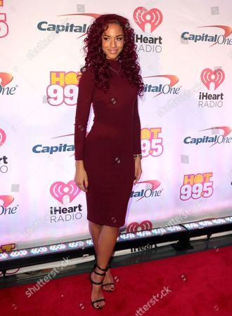 Editorial image of Hot 99.5â?™s iHeartRadio Jingle Ball - , D.C., Washington, USA