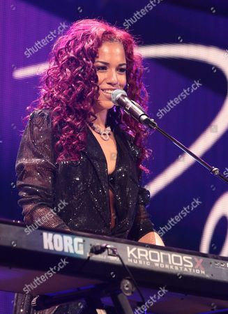Natalie La Rose performs in concert during Hot 99.5's iHeartRadio Jingle Ball 2015 at the Verizon Center, in Washington, D.C