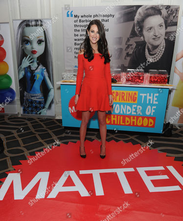 Fashion and celebrity stylist Micaela Erlanger poses for a photo before honoring Mattel with the2016 Game Changer Award for the Barbie Fashionistas, the brand's most diverse line to date, at the Women In Toys Wonder Women Awards Gala, in New York