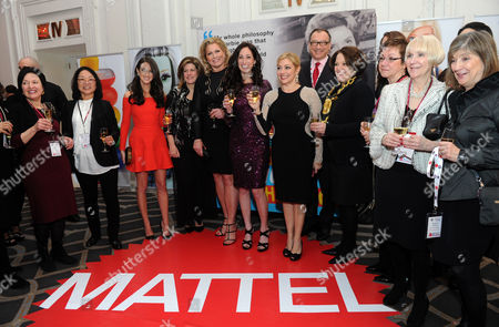 The Women In Toys committee honors Mattel with the Game Changer Award at the Wonder Women Awards Gala, with presenters fashion and celebrity stylist Micaela Erlanger and supermodel EMME, in New York