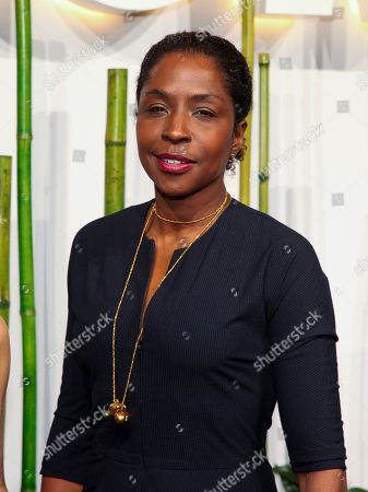 Lorna Simpson attends the Party in the Garden at The Museum of Modern Art, in New York