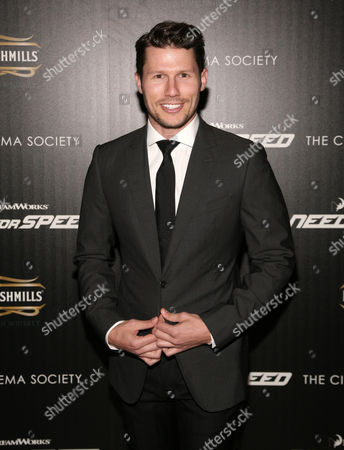 """Television personality Jason Dundas attends a screening of """"Need For Speed"""" on in New York"""