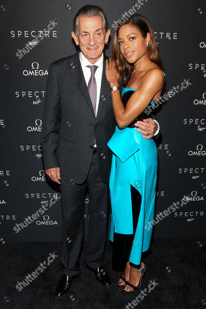 """Editorial photo of Omega Hosts Special Screening of """"Spectre"""", New York, USA"""