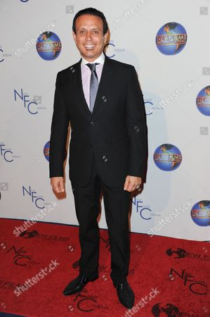 """Stock Image of Nesim Hason attends the premiere of """"Flying Lessons"""" at the Laemmle Monica 4-Plex, in Santa Monica, Calif"""