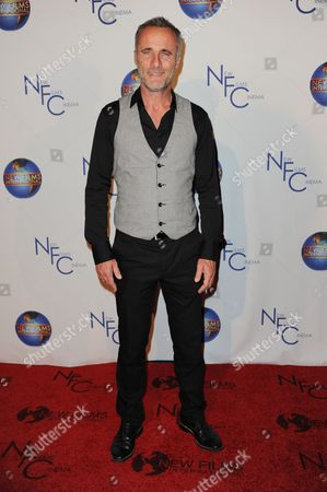 """Gabriel Jarret attends the premiere of """"Flying Lessons"""" at the Laemmle Monica 4-Plex, in Santa Monica, Calif"""