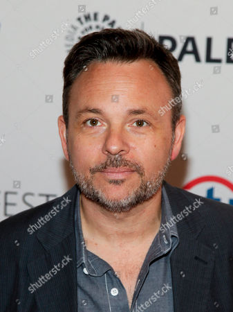 """Danny Cannon attends the PaleyFest New York """"Gotham"""" panel discussion during The William S. Paley Television Festival at The Paley Center for Media, in New York"""