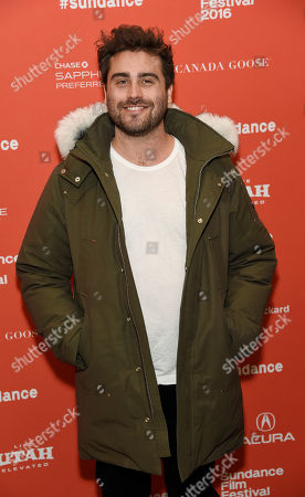 """Richard Tanne, writer/director of """"Southside With You,"""" poses at the premiere of the film at the 2016 Sundance Film Festival, in Park City, Utah"""