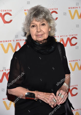 Robin Morgan attends the 2016 Women's Media Awards at Capitale, in New York
