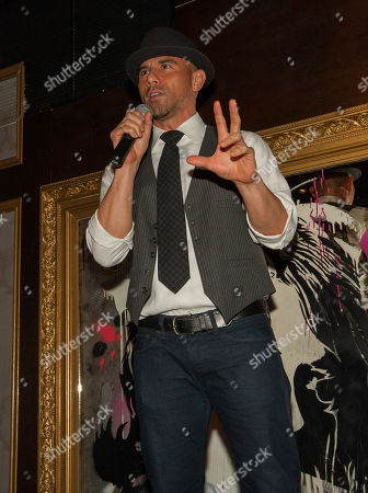 Rockit Ranch Productions CEO Billy Dec at the A Red Orchid Theatre's Annual Gala at the Underground, on in Chicago