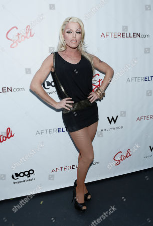 Morgan McMichaels attends Logo's AfterEllen & AfterElton Inaugural Hot 100 Party at the W Hotel on in Los Angeles