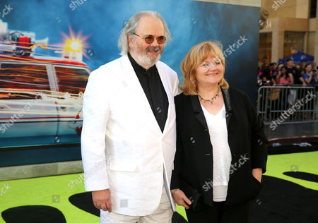 David Keith Heald and Lesley Nicol are seen at the Los Angeles Premiere of Columbia Pictures' Ghostbusters at TCL Chinese Theatre, in Los Angeles