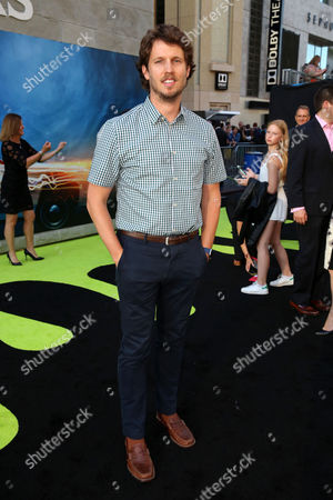 Jon Heder is seen at the Los Angeles Premiere of Columbia Pictures' Ghostbusters at TCL Chinese Theatre, in Los Angeles