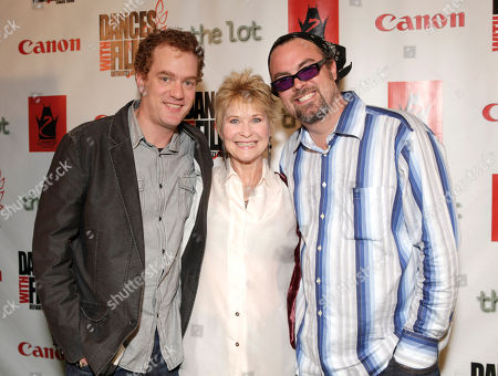 Actor Todd Robert Anderson, Actress Dee Wallace and Director/Writer Steve Hicks arrives at the Fuzz Track City World Premiere at Dances With Films on in Los Angeles